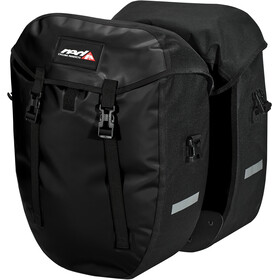 Red Cycling Products Urban Twin II Gepäckträgertasche 1 Paar black